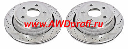тормозные диски передние - перфорированные Toyota Sequoia 08+